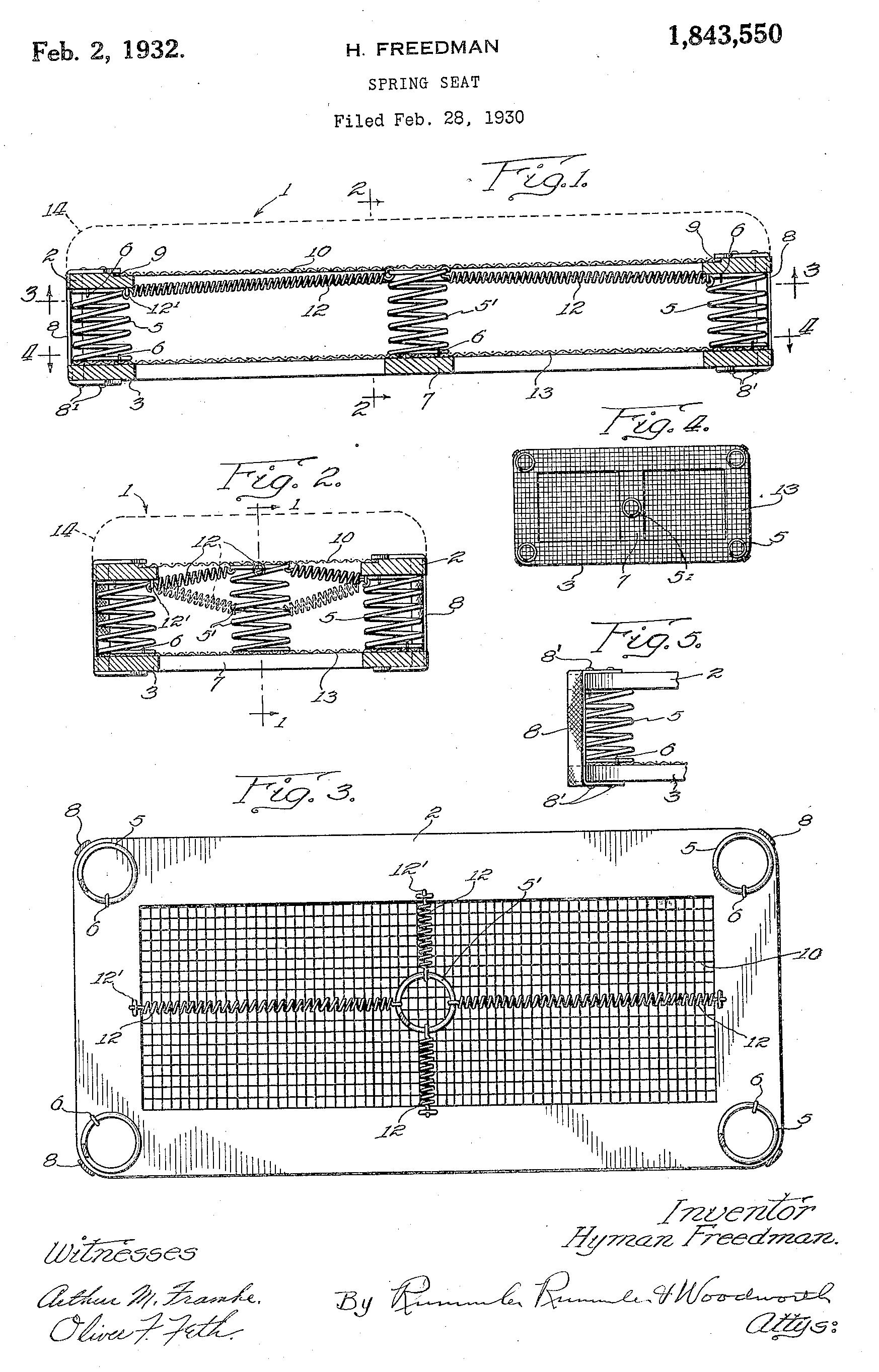 U.S. Patent #1843550