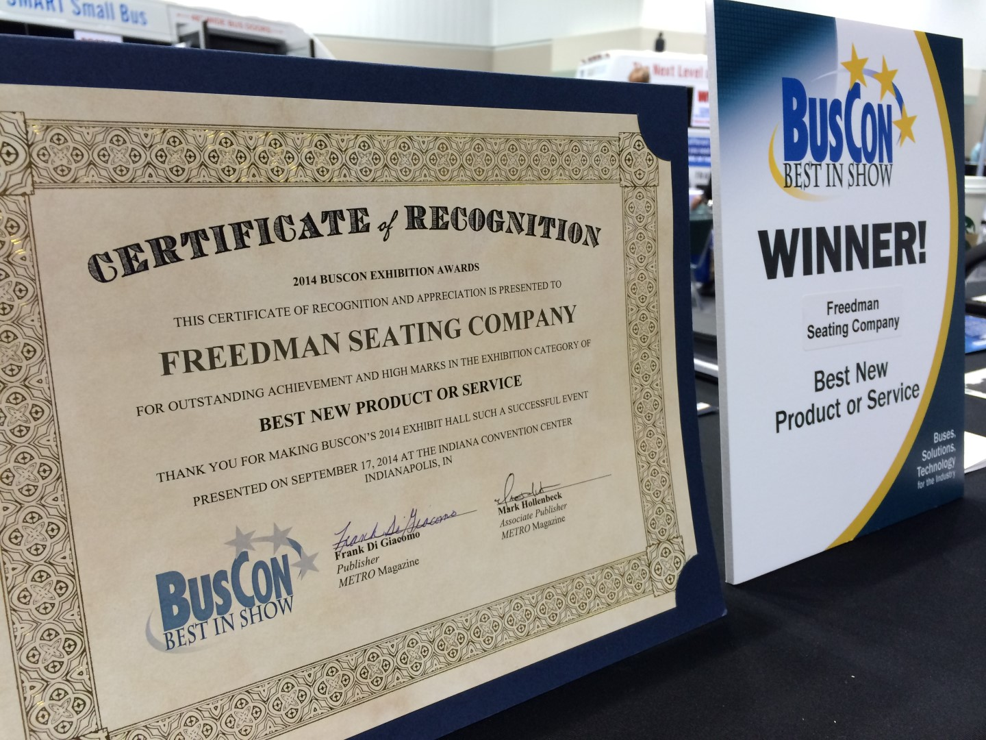 Best In Show at BusCon Expo