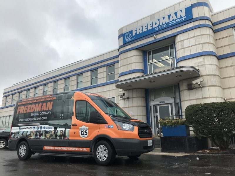 2018 Show on the GO Ford Transit Van